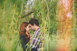 leicester engagement shoot