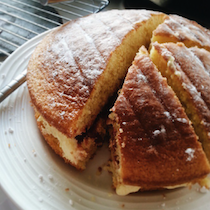 Home Made Victoria Sponge Cake!