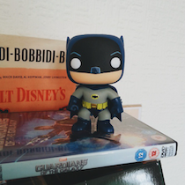 Batman on my desk