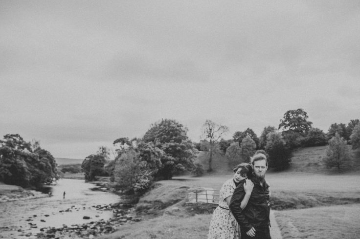 Yorkshire Engagement Shoot at Bolton Abbey