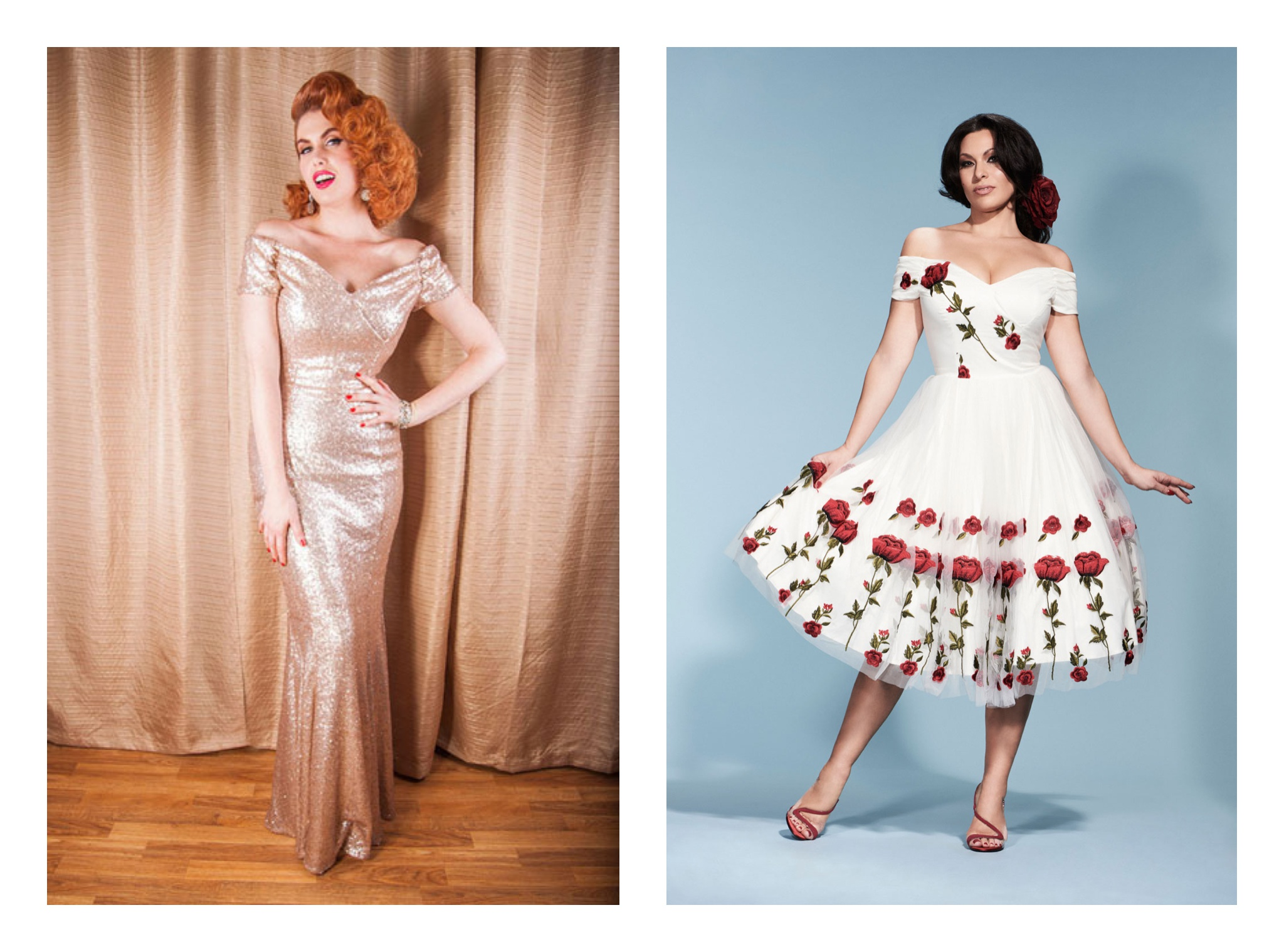 Vintage Inspired Alternative Wedding Dresses / Wedding Inspiration ...