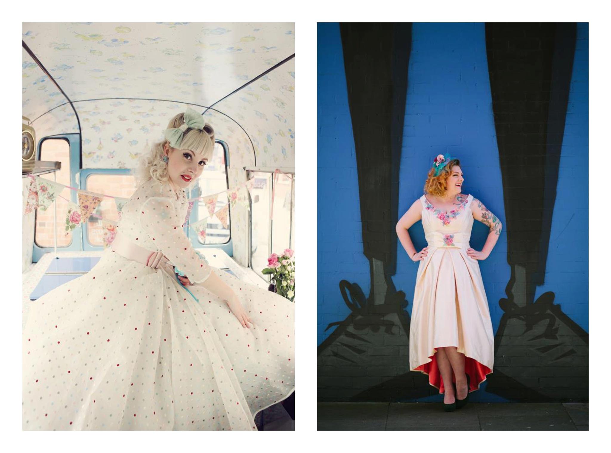 Alternative Wedding Dress S Manchester : Vintage inspired alternative wedding dresses inspiration