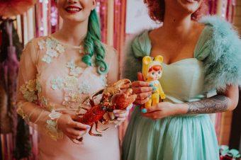 becky ryan photography retro kitsch wedding