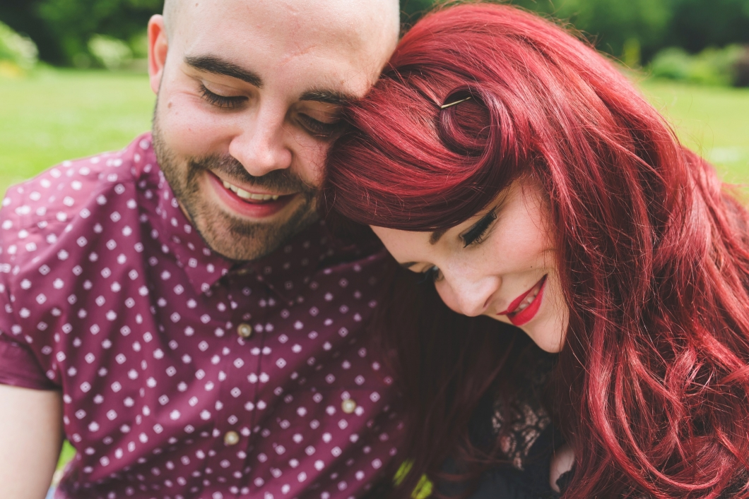 speke hall engagement shoot