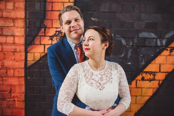 the custard factory birmingham wedding photography