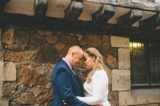 David and Grace's Vintage Leicester Wedding