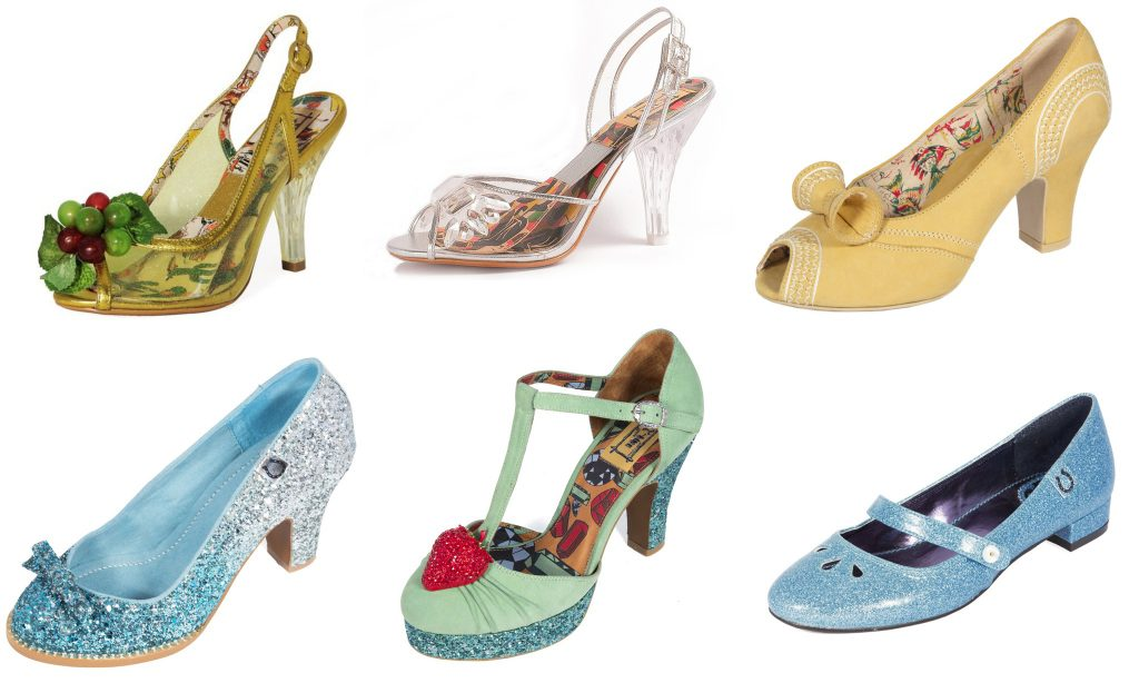 quirky wedding shoes from miss l fire