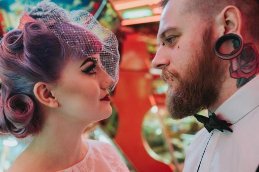 alternative wedding photography derbyshire