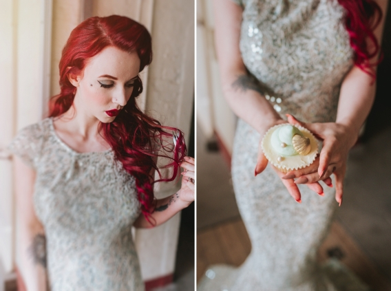 becky ryan photography - little mermaid fairytale wedding shoot
