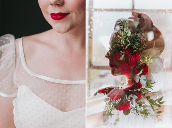 snow white bride - becky ryan photography