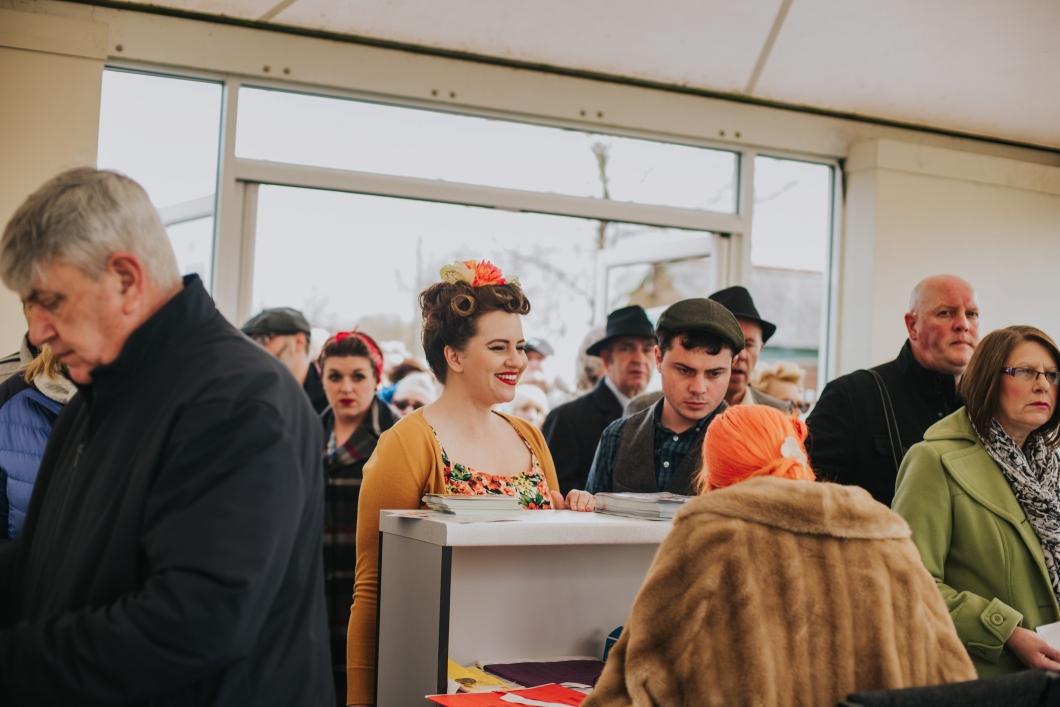 The Vintage Carnival - Becky Ryan Alternative Wedding Photographer