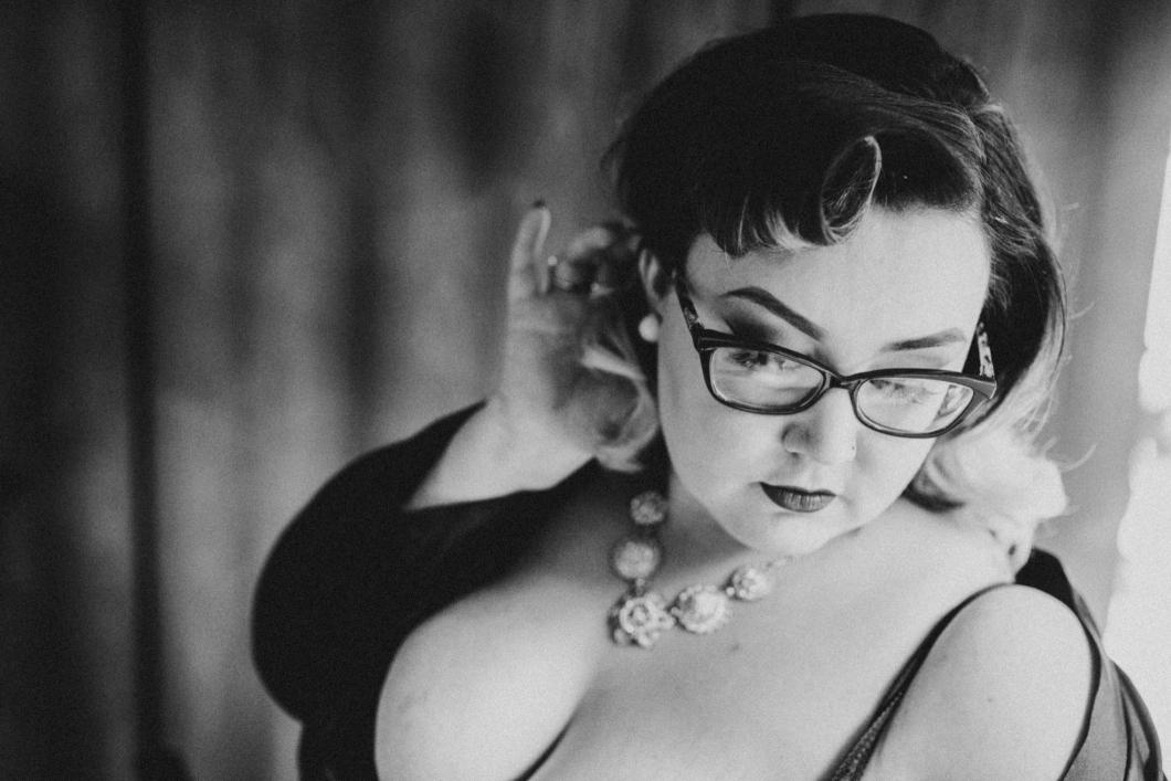 becky ryan photography - vintage makeover boudoir photography