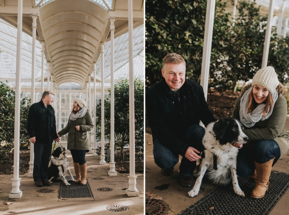 wollaton park engagement shoot