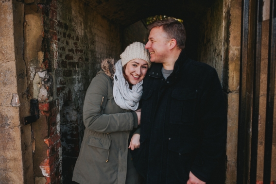 wollaton hall engagement shoot