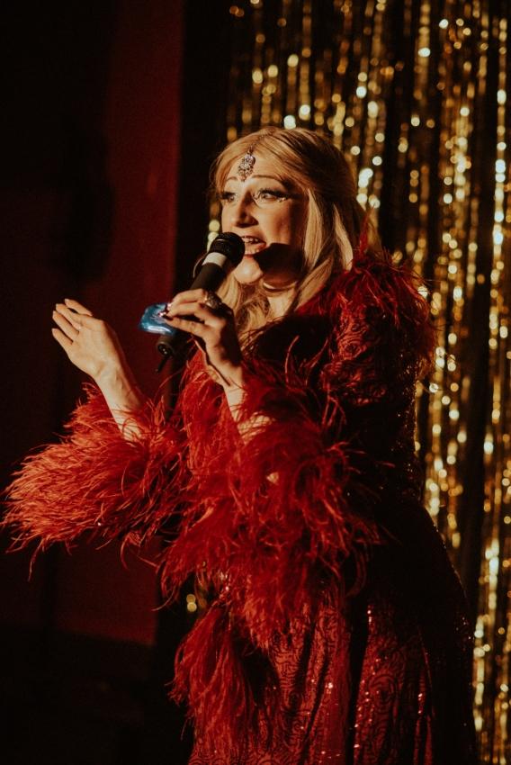 Becky Ryan burlesque photography elena gabrielle