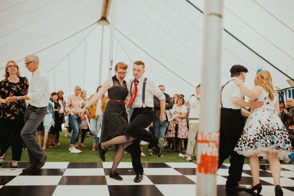 Red And Ginger / Vintage Dance Workshops East Midlands