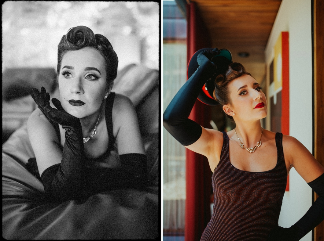the starlet suite - vintage makeover photography