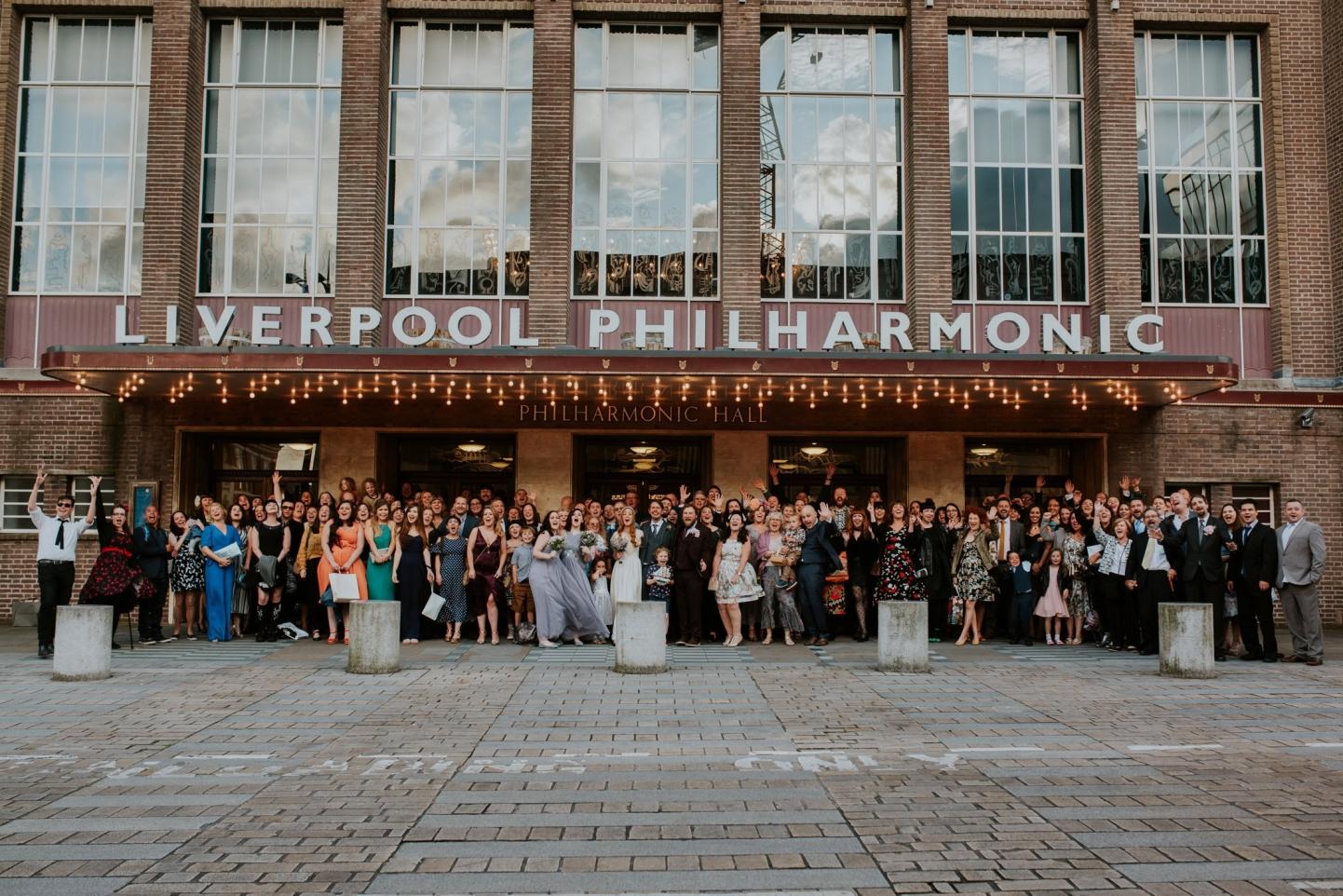 liverpool philharmonic hall wedding photography becky ryan photography
