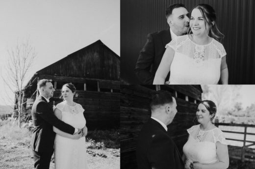 donington park farmhouse wedding