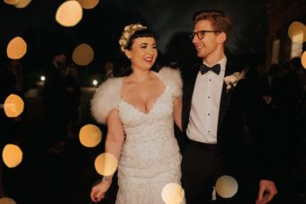 Winter West Mill Vintage Wedding by Becky Ryan Photography
