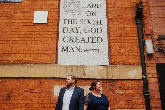 urban manchester engagement shoot