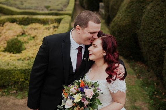 newstead abbey vintage wedding