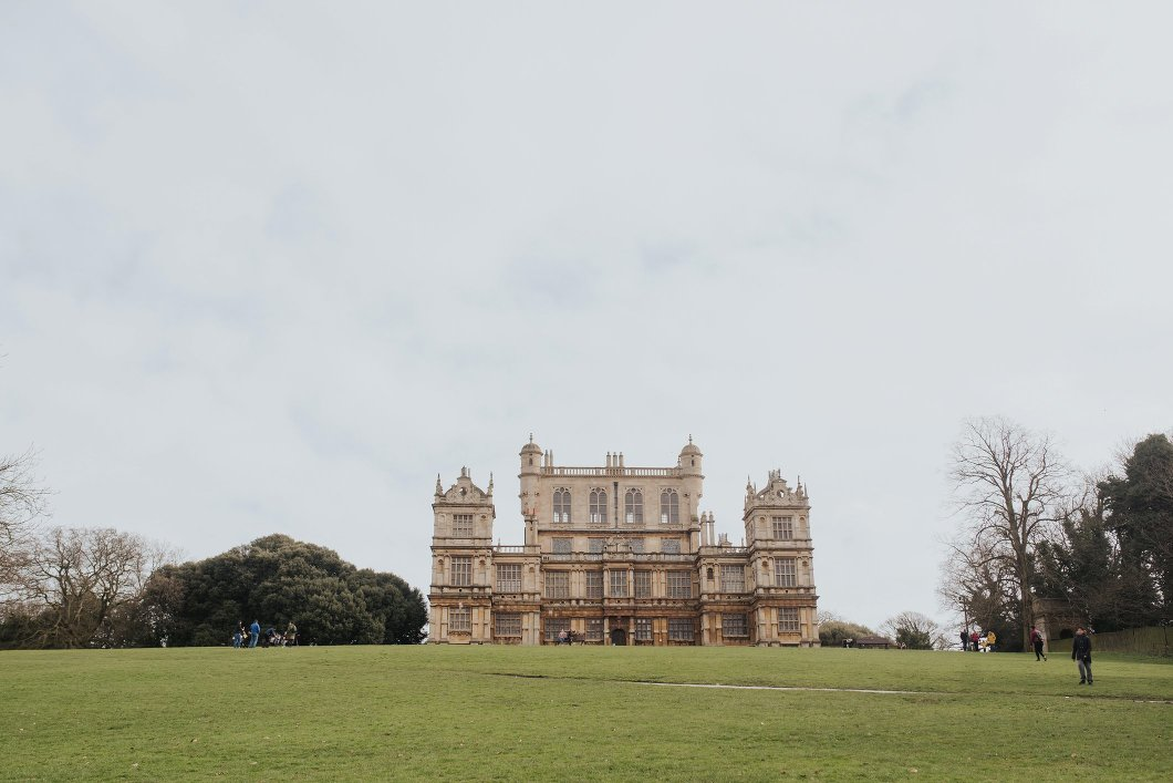 Wollaton Hall Nottingham Engagement Shoot