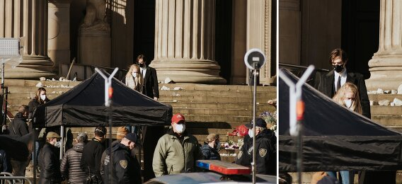 the batman liverpool behind the scenes set photography by Becky Ryan