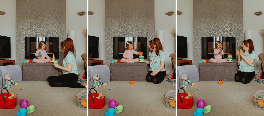 virtual family shoot